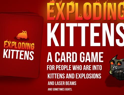 Exploding Kittens! Maf en vlot kaartspel