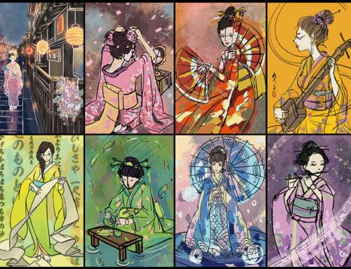 Recensie Hanamikoji – Tweespelerspel